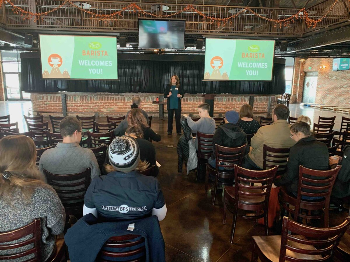 Small Changes, Big Impacts' Pacific Barista Series Event
