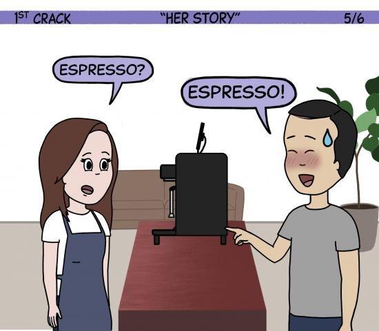 1st Crack Coffee Comic March 20, 2021 Panel 5