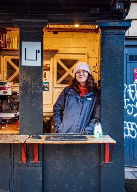 Police Box Cafés en Edimburgo, Escocia