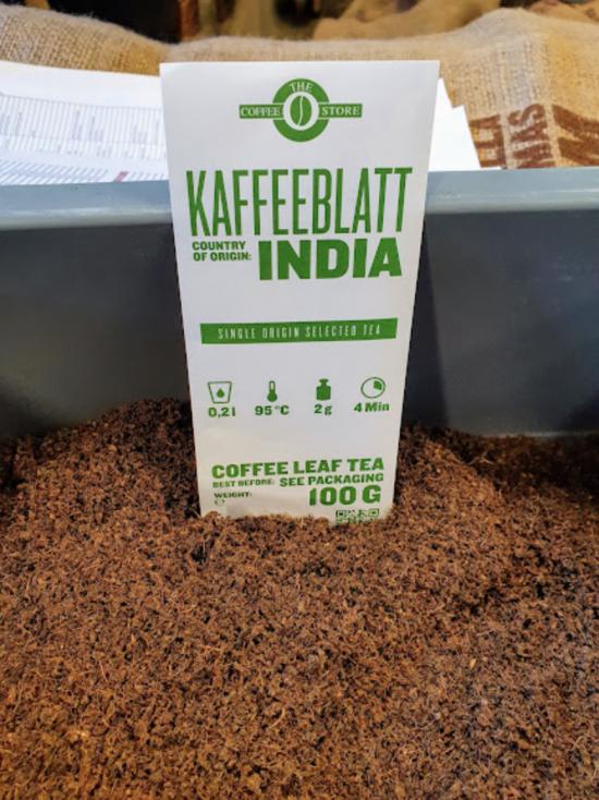 Conozca sus ingredientes: té de hojas de café