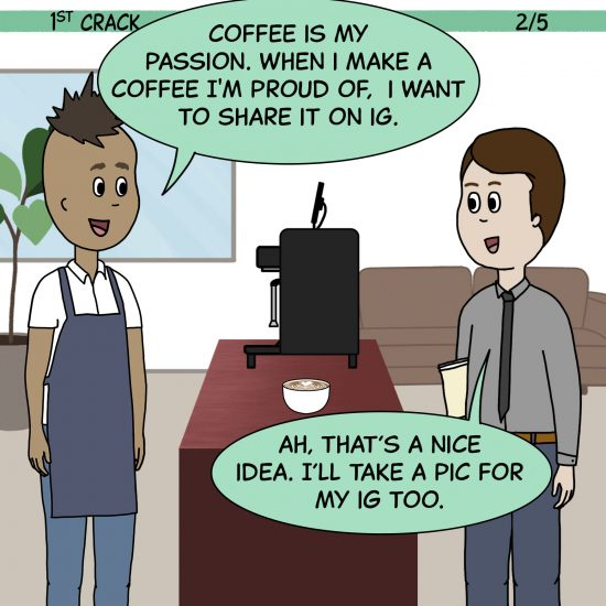 1st Crack a Coffee Comic for the Weekend - Sept. 11, 2021 Panel 2