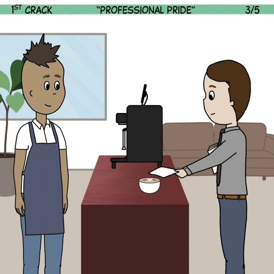 1st Crack a Coffee Comic for the Weekend - Sept. 11, 2021 Panel 3