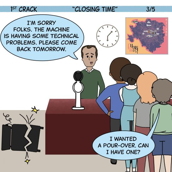 1st Crack a Coffee Comic for the Weekend - Sept. 25, 2021 Panel 3