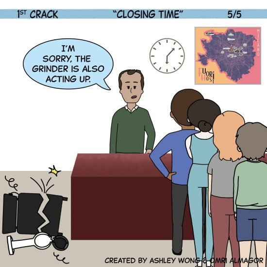 1st Crack a Coffee Comic for the Weekend - Sept. 25, 2021 Panel 5