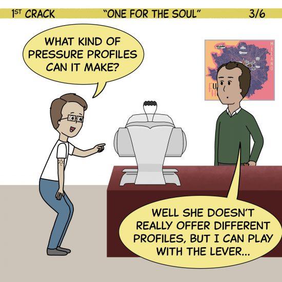 Primer cómic de Crack a Coffee para el fin de semana - 2 de octubre de 2021 Panel 3