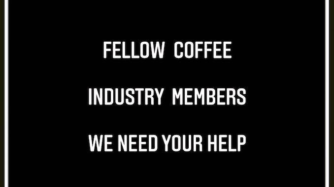 La fuente del título dice que otros miembros de la industria del café necesitan su ayuda