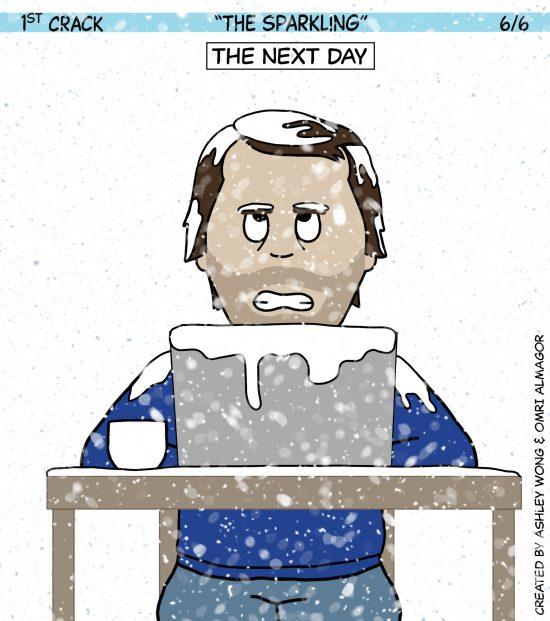Primer cómic de Crack a Coffee para el fin de semana - 23 de octubre de 2021 Panel 6