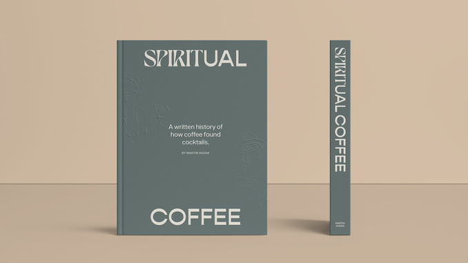 Una imagen del libro verde del café espiritual.